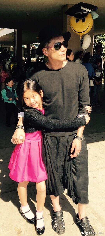邹兆龙和女儿