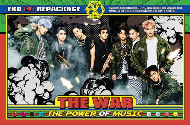 EXO回归曲《Power》席卷全球 登顶各大专辑榜