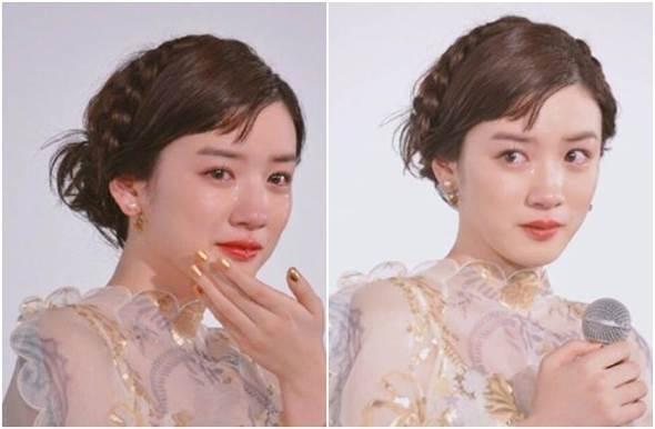 传说中的仙女式哭泣!女星落泪被赞美哭了