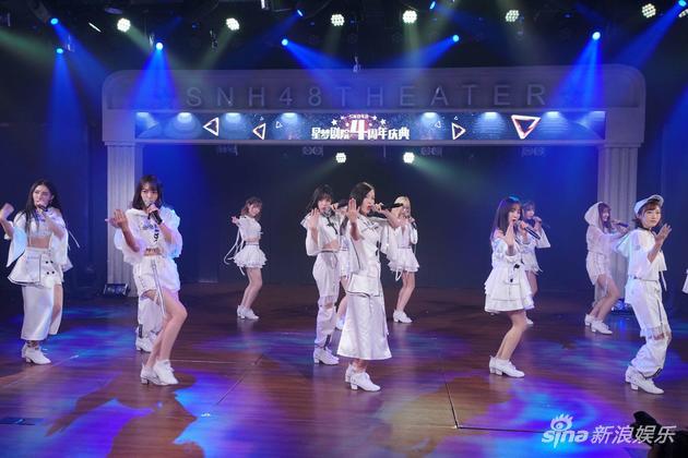 SNH48星梦剧院四周年 黄婷婷为粉丝煮米粉答谢