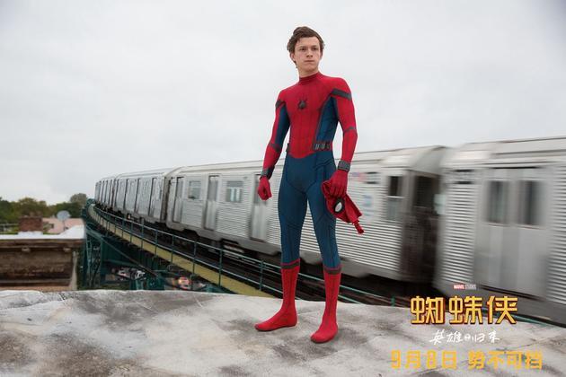 《蜘蛛侠:英雄归来》首周末狂收4.56亿 好评如潮