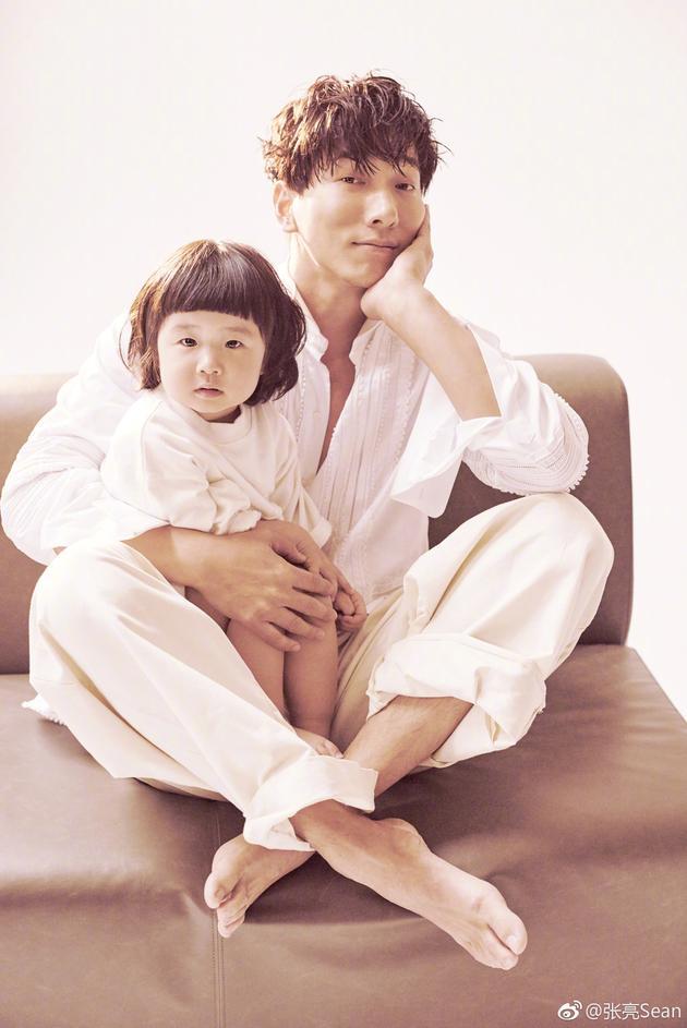 张亮与女儿