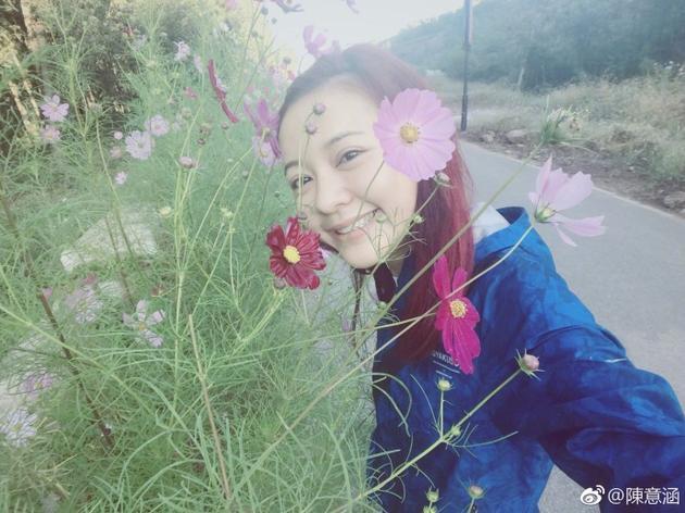 陈意涵笑靥如花
