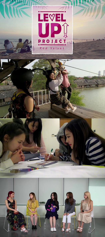 Red Velvet泰国旅行记播放破500万 将直播谢观众