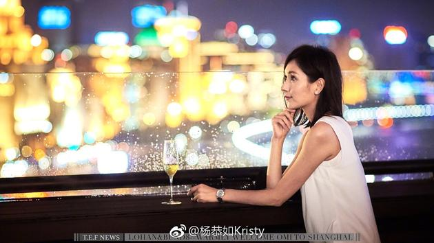 43岁杨恭如晒侧颜美照似少女 身材曼妙气质绝佳