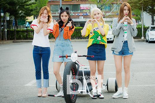 韩女团Wassup两成员将再参加选秀 寄希望翻红