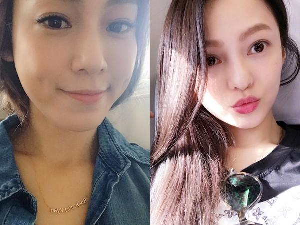 张韶涵(右)与范玮琪(左)