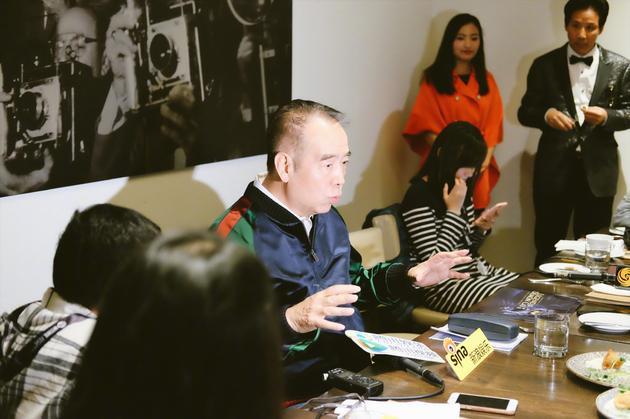 陳凱歌導演在多倫多評委工作間隙接受採訪