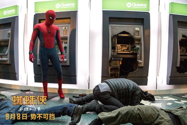 《蜘蛛侠:英雄归来》曝正片片段 刷新票房纪录