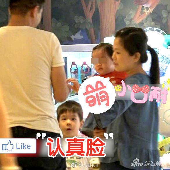 疑杜江霍思燕一岁小女儿曝光