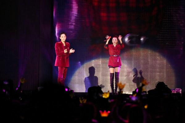 GD在吉隆坡开唱,Dara助阵