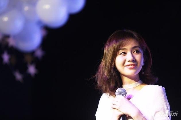 郑合惠子在北京举办生日会