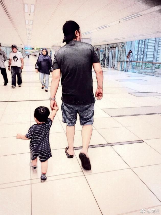 阿杜和儿子