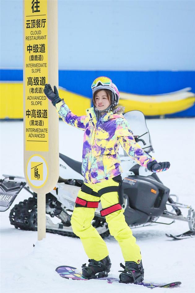 """陈妍希独创企鹅步滑雪 不惧伤痛领航""""六大天鹅"""""""