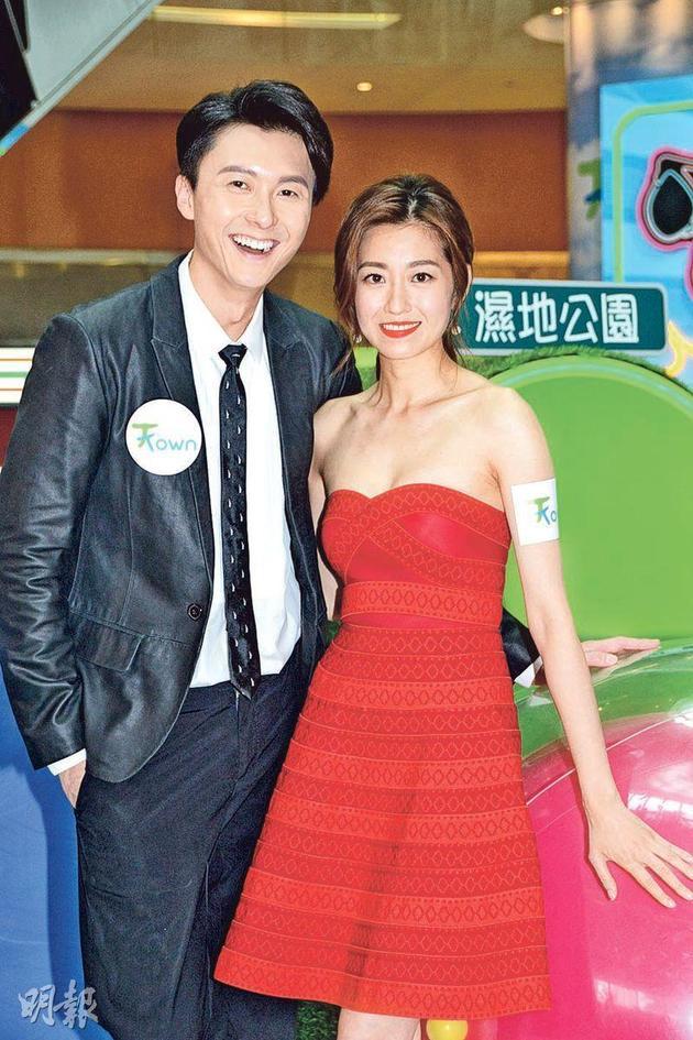 陈自瑶搂王浩信破婚变传闻:我们很好没分居