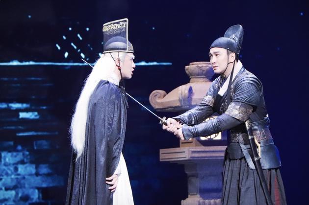 《演员的诞生》翟天临演锦衣卫统领 搭档余少群