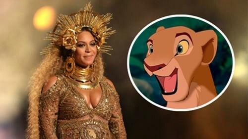 碧昂斯将献声新版《狮子王》 为辛巴妻子一角配音