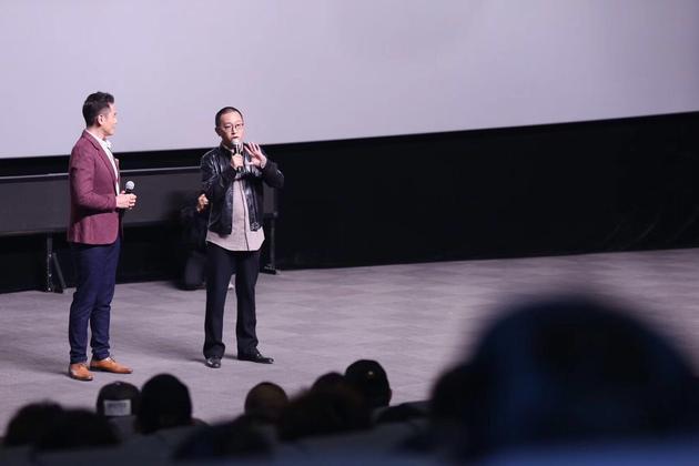 《追•踪》映后,李霄峰导演与观众们进行交流