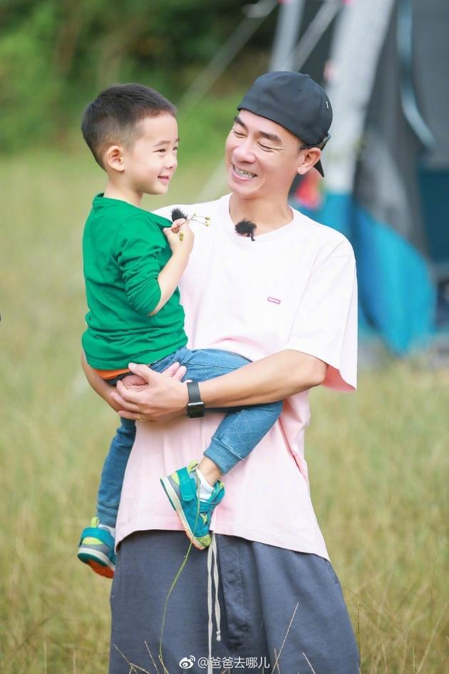 《爸爸去哪儿5》陈小春因儿子一句话落泪