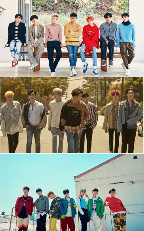 SJ与GOT7出席MAMA香港颁奖礼 MONSTA X亮相日本站