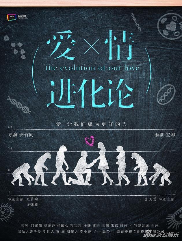 海报论+�_《爱情进化论》海报