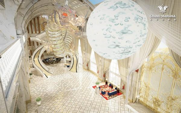 吴佩慈婆婆投资的酒店,2条巨龙耗资40亿台币