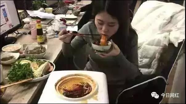 饮水机煮火锅
