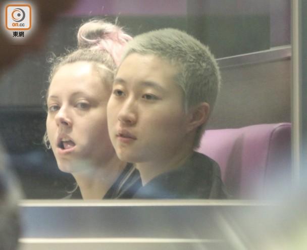 吴卓林与女友