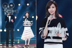 王心凌和吴克群合唱《倒带》。