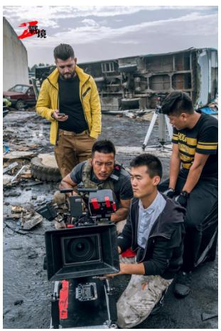 《战境:火线突围》拍摄中