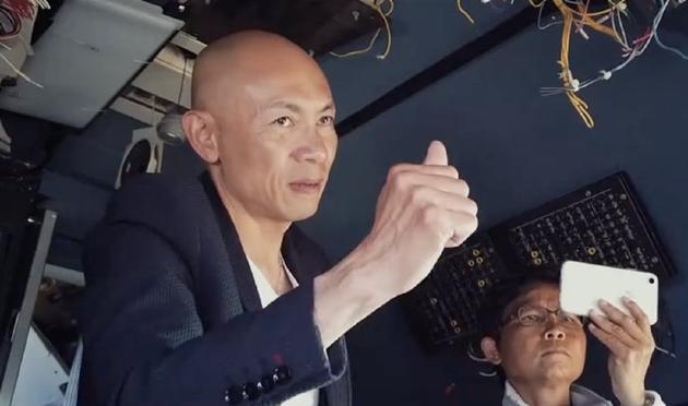 林超贤否认与电影《512》有关:没接触也没洽谈