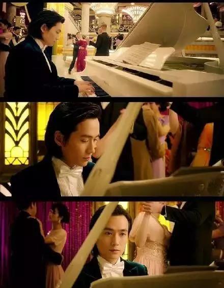 朱一龙弹钢琴