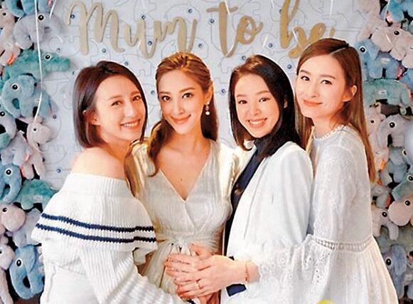 龚嘉欣、谭凯琪及沈卓盈向陈凯琳送祝福。