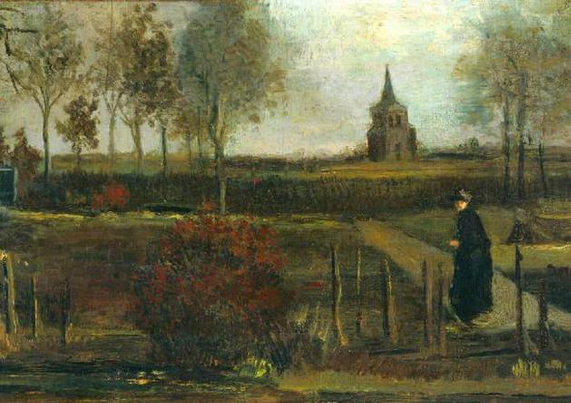 荷兰博物馆遭窃梵高画作被偷