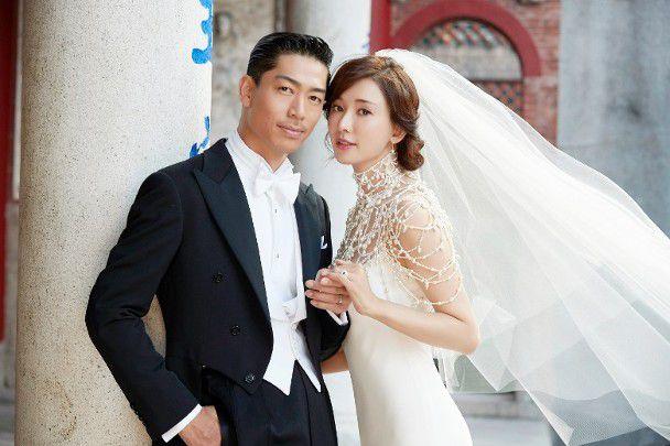 林志玲和老公黑泽良平结婚照