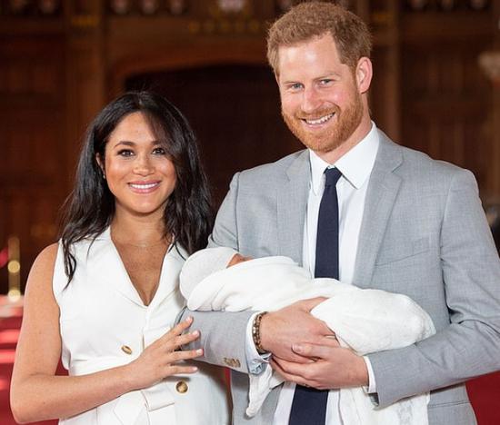 英国的哈里王子和梅根王妃