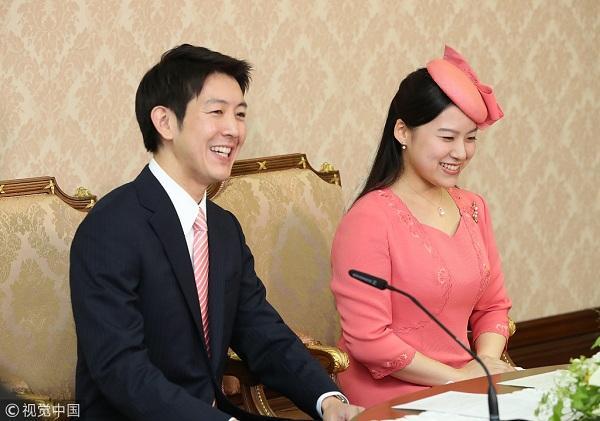 日本绚子公主婚礼定于10月29日