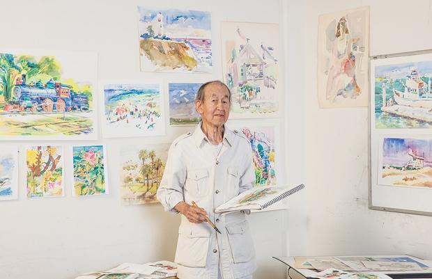 105岁华裔迪士尼动画师去世 曾参与《小飞象》