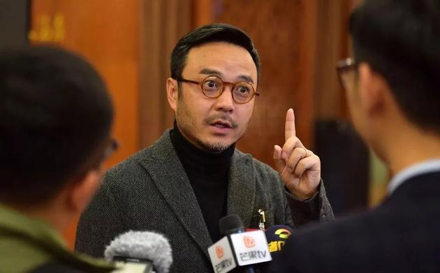 2019年汪涵参加湖南省政协会议。