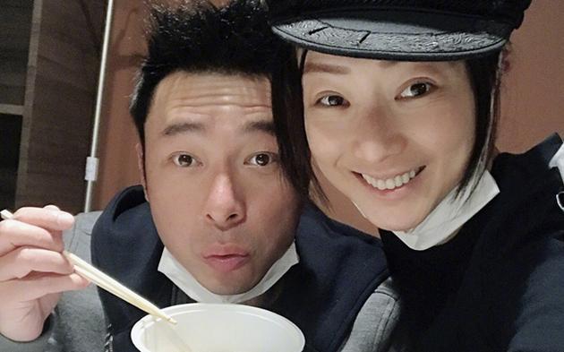 許志安與老婆鄭秀文