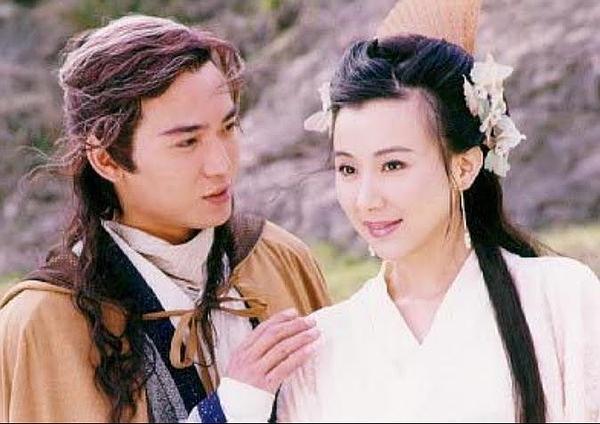 1999年版《小李飞刀》中的焦恩俊与萧蔷