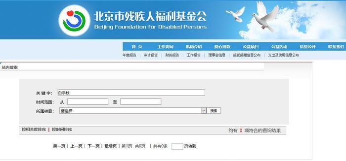 北京市残疾人福利基金会