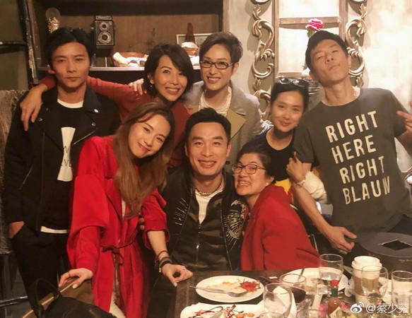 陳法蓉與蔡少芬相識超過20年,兩人私底下經常一起聚會