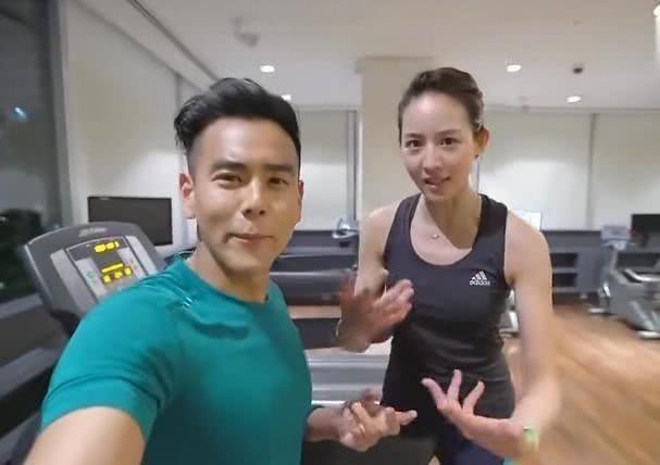 彭于晏张钧甯曾一同健身