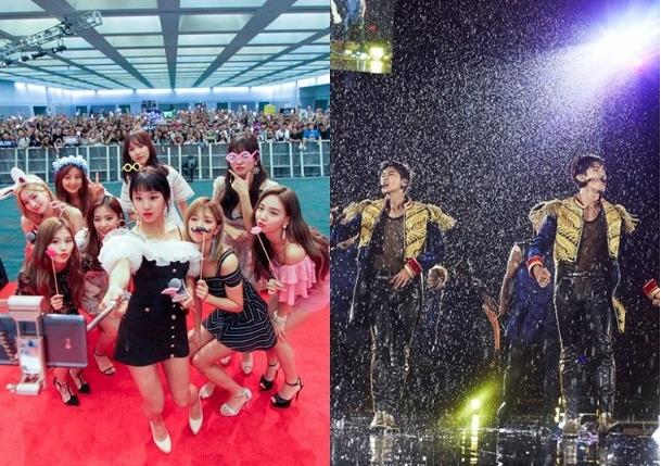 东方神起与TWICE成为上半年最吸金的韩国男女组合