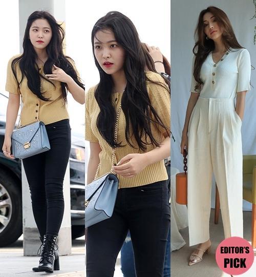 韩情脉脉:韩国TOP3女团忙内惹人爱 清新装风格多
