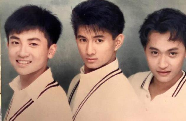 三十年前小虎队合照。