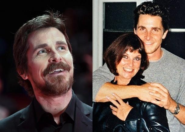 45岁英国男星克里斯蒂安·贝尔与家人断绝关系10年,最近终有转机。