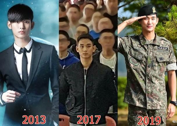 金秀贤服役20个月身材不走样 双臂变壮man到爆