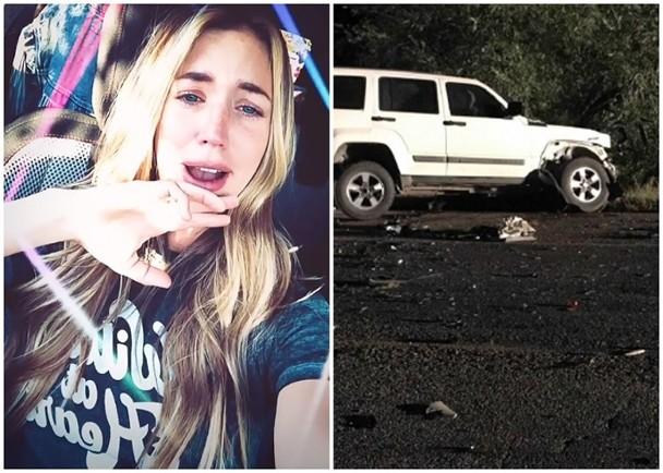 警方怀疑女歌手Kylie醉驾超速引致车祸。